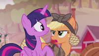 Applejack --what can I do for you--- S5E25