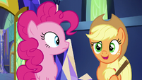 Applejack -didn't anypony tell you-- S5E19