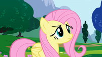 """Fluttershy right before """"loudest"""" yay S1E16"""