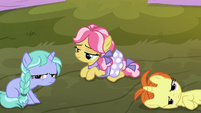 Kettle Corn and fillies looking bored S9E14