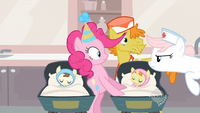 Nurse Redheart mad at Pinkie S2E13