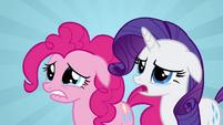 Pinkie Pie Rarity tearful S02E19