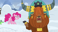 Prince Rutherford assuring -yaks fine!- S7E11