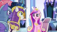 """Princess Cadance """"do you have Flurry Heart?"""" S9E1"""