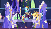 "Rainbow Dash ""I found Pinkie's page"" S7E14"