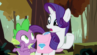 """Rarity """"can't imagine why you set him free"""" S8E11"""