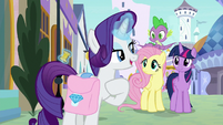 """Rarity """"don't like being interrupted"""" S9E24"""