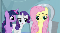 """Rarity """"whatever did you do that for?!"""" S5E5"""