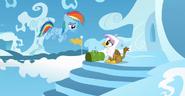 S05E08 Rainbow Dash i Gilda na obozie lotniczym