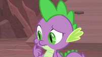 Spike thinking for a moment S9E9