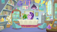 Starlight Glimmer sitting in her office S9E20