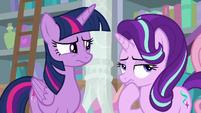 Twilight and Starlight thinking S8E25
