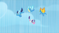 Wonderbolts need to be rescued S1E16
