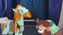 Yona excited by Rockhoof's agreement S8E21