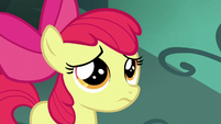 Apple Bloom listens to Big Mac S5E17