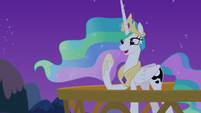 "Celestia ""I can talk to ponies in their dreams!"" S7E10"
