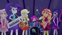 Equestria Girls nervous in the dark EGSB