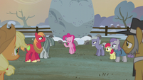 Pinkie Pie -the first flag was sewn by- S5E20