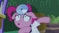 Pinkie Pie violently coughing S9E17