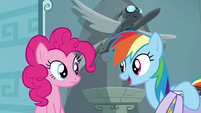 """Rainbow Dash """"I just have to train for this show"""" S6E7"""
