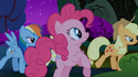 Rainbow Dash with her tail missing S1E02