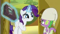 Rarity arrives with Ogres & Oubliettes S9E19