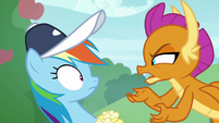 """Smolder """"supposed to come up with stuff"""" S9E15"""