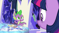"Spike ""just two small problems"" S8E2"