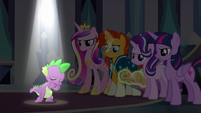 Spike singing --the darkness turn to light-- S6E16