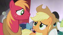 "Applejack ""Are you as worried as I am?"" S4E20"