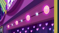 Colorful lights activating on stage EGSBP