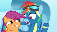 """Rainbow Dash """"not just shown up!"""" S7E7"""