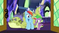 "Spike ""even dragons need help"" S8E24"