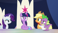 """Spike """"knew you were going to react"""" S9E1"""