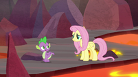"""Spike """"you cheer up Garble"""" S9E9"""