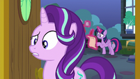 Starlight confused by Spike's question S7E1
