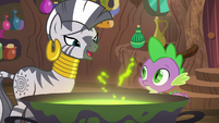 """Zecora """"it ties the room together"""" S5E22"""