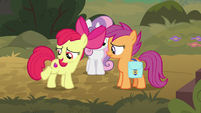 "Apple Bloom ""our cutie marks prove it!"" S9E12"