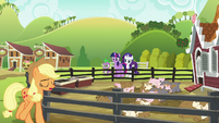 "Applejack ""sometimes the simplest things can just derail"" S6E10"