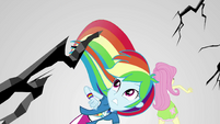 Limbo cracks apart around Rainbow Dash EGS3