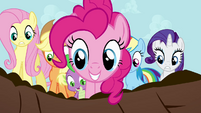"Pinkie Pie ""that WAS a big finish!"" S4E01"