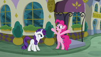 """Pinkie Pie """"the food here must be amazing!"""" S6E12"""