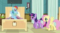 "Rainbow Dash ""hey guys"" S02E16"