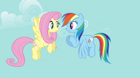 Rainbow Dash 'you gotta be excited!' S4E04