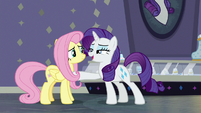 """Rarity """"you've conquered your shyness"""" S8E4"""