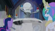 S04E02 Celestia wyciąga Klejnoty Harmonii