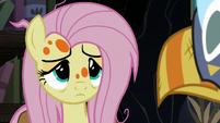 Sick Fluttershy listening to Twilight Sparkle S7E20