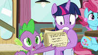 """Spike """"what'd I miss?"""" S9E16"""