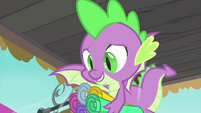 Spike wants to do more stuff for Rarity MLPS1