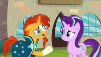 """Sunburst """"is the friendship problem"""" S8E8"""
